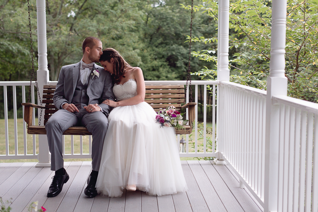 AMANDA + CAMERON: AN INTIMATE VIRGINIA FARM WEDDING